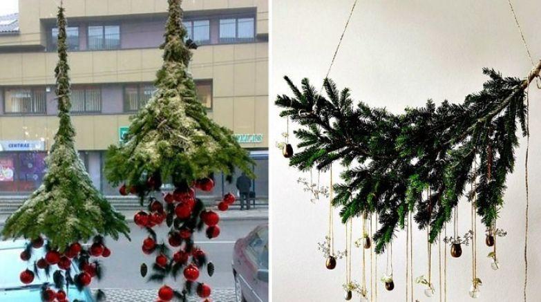 декор из елки