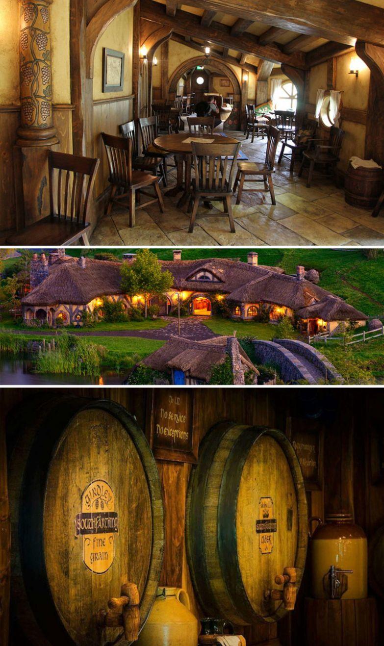 """Лучший паб для всех поклонников """"Властелина колец"""", The Green Dragon Pub, Новая Зеландия мир, подборка, ресторан"""