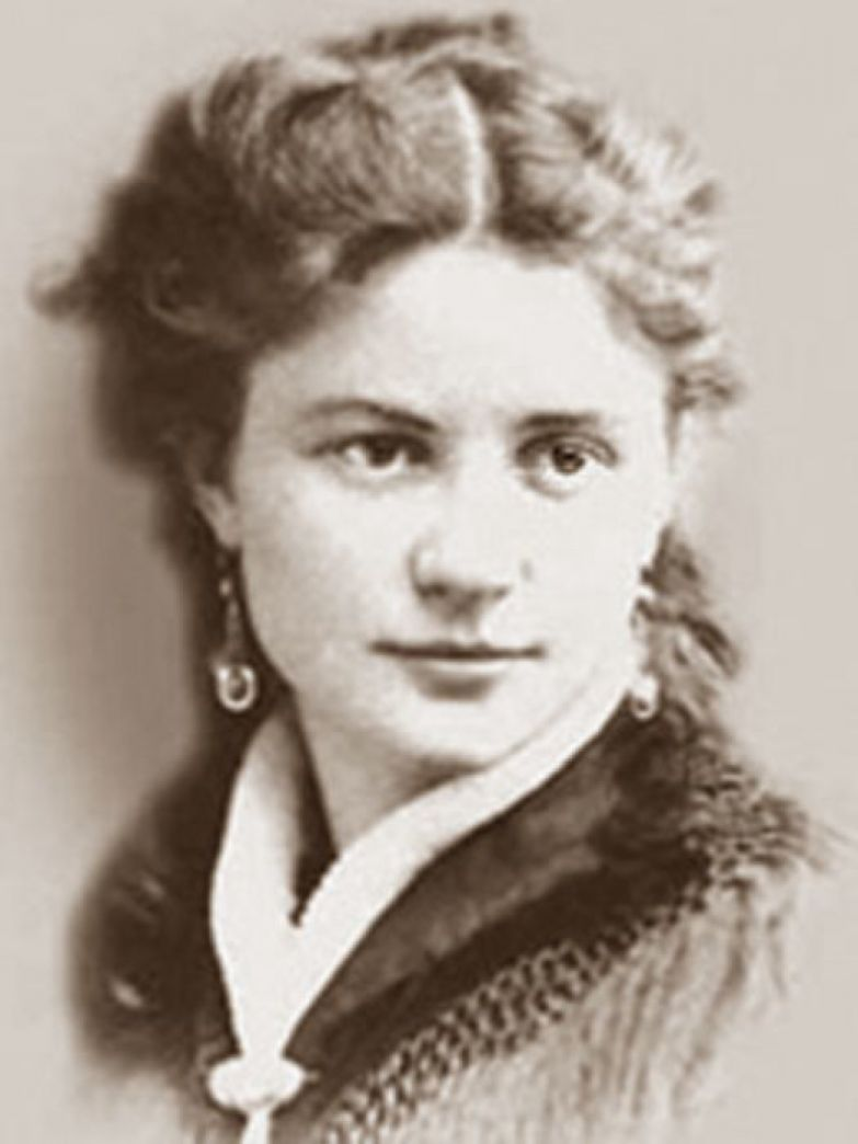 Один из немногих прижизненных портретов Софьи Блювштейн.