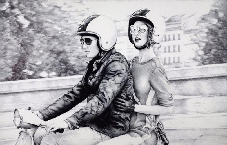 Рисунки шариковой ручкой Андрея Полетаева