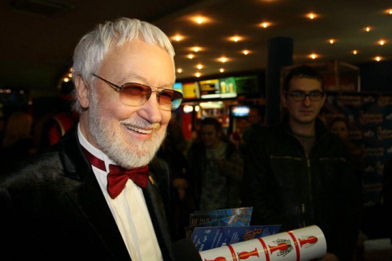 Георгий Юнгвальд-Хилькевич на премьере фильма «Возвращение мушкетеров, или Сокровища кардинала Мазарини»