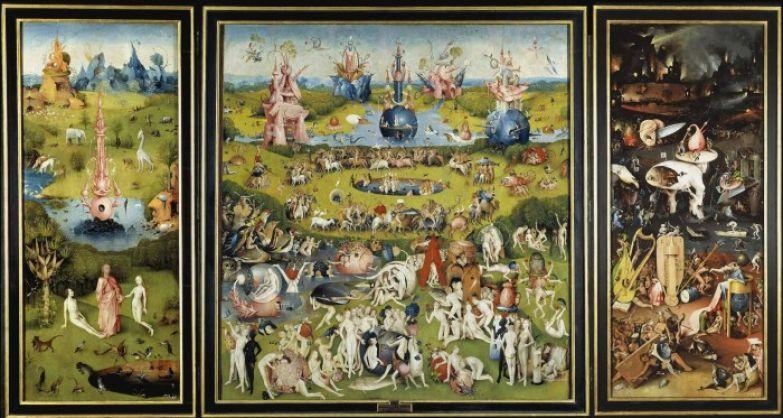 Иероним Босх, «Сад земных наслаждений»