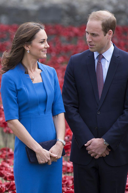 Кейт Миддлтон и принц Уильям, 2014