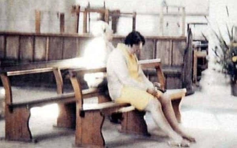 1. Призрак Белой леди привидение, страх, фотография
