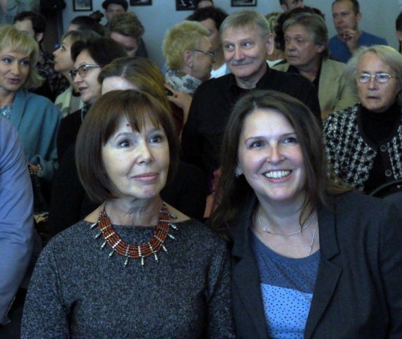 Евгения Симонова с дочерью Зоей