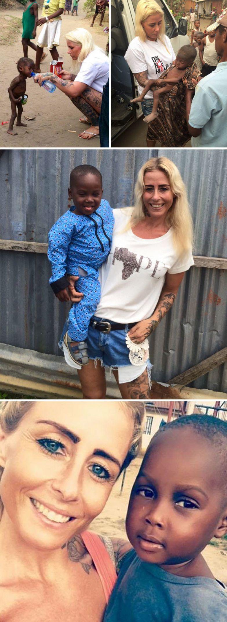 3. Датчанка спасла 2-летнего мальчика из Нигерии, которого семья бросила умирать на улице доброта, мир, поступок