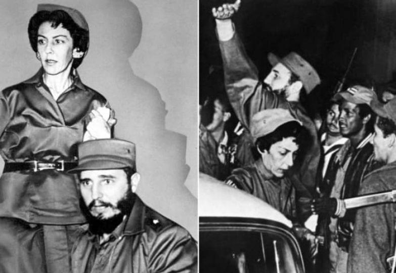 Селия Санчес и Фидель Кастро | Фото: kommersant.ru и liberation.fr