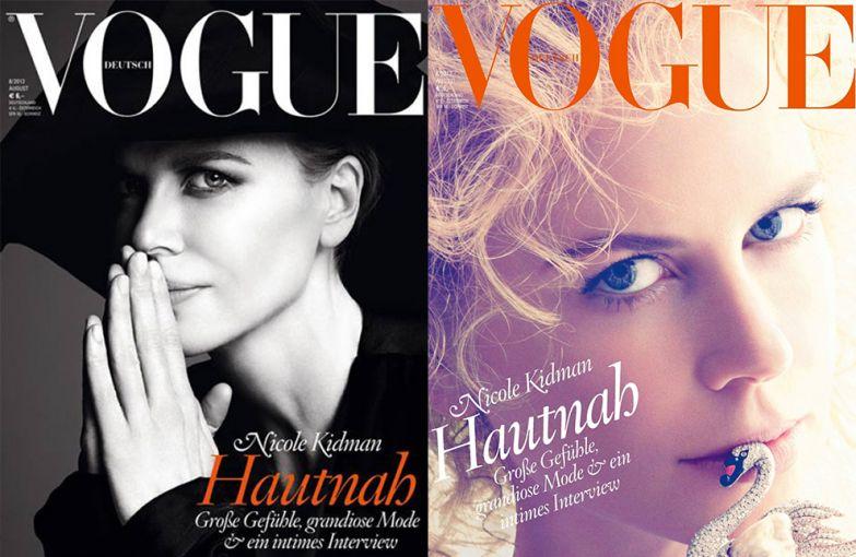 Vogue Германия, август 2013; Vogue Германия, август 2013