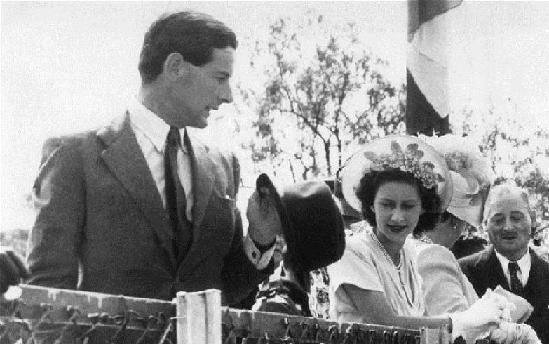 Принцессы Маргарет и капитан Питер Таусенд.