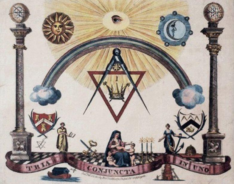 В основе масонства - культ Солнца.