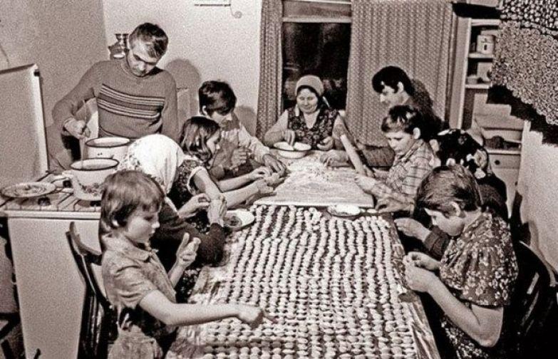 Домашние пельмешки... ностальгия, ссср, фото, фотографии