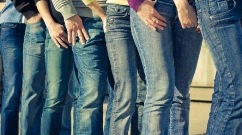 Такие разные классически синие джинсы