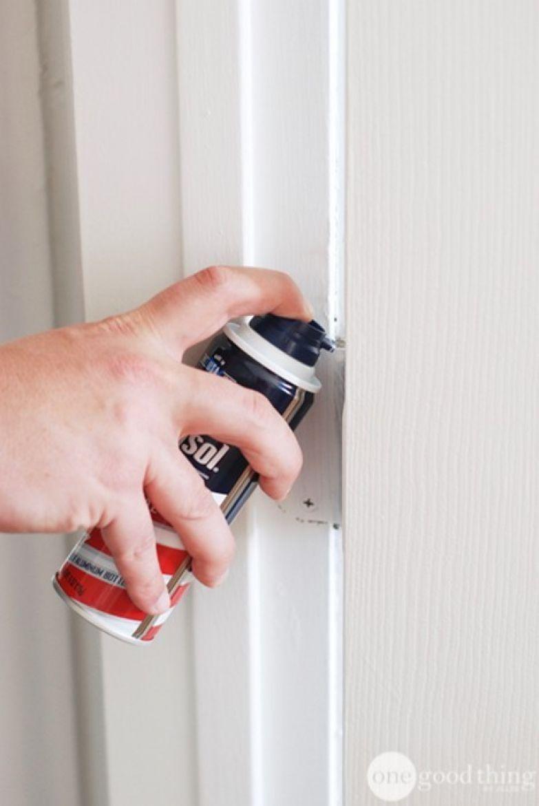 7. Обеззвучить скрипящую дверь полезно, советы