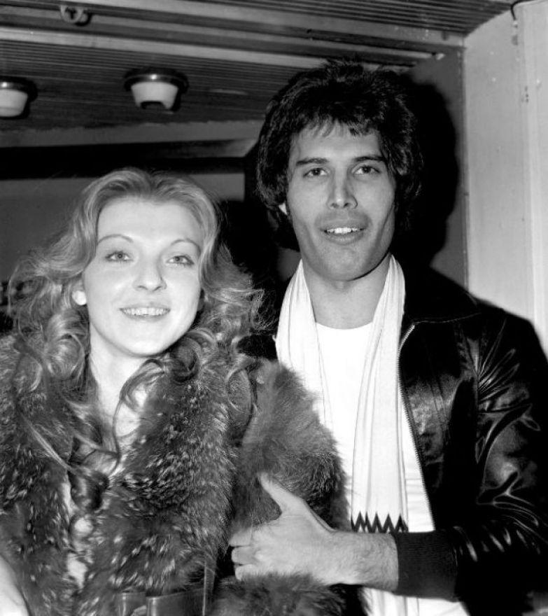 Мэри Остин - женщина, которая стала вдохновением для баллады «Любовь моей жизни» Queen's, 1975 год.