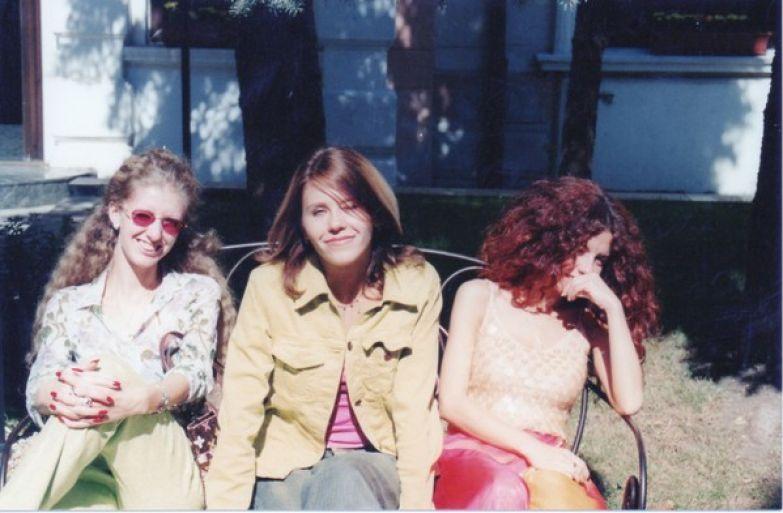 Анна (справа), Настя и Изольда