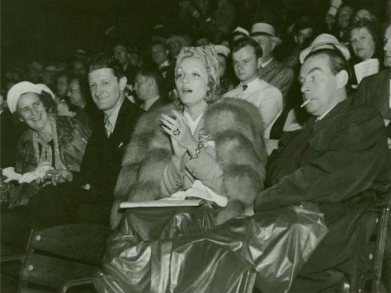 Марлен Дитрих и Эрих Мария Ремарк | Фото: radikal.ru