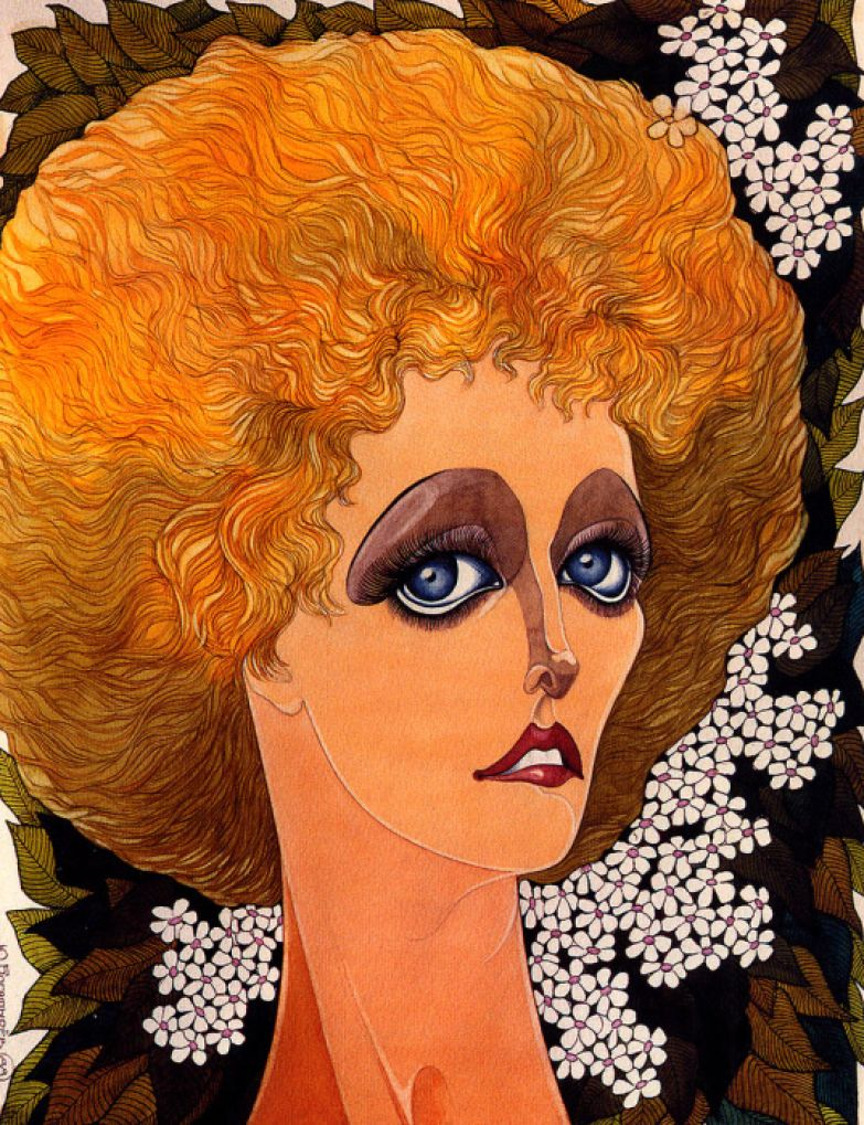 Елена Соловей, 1988.