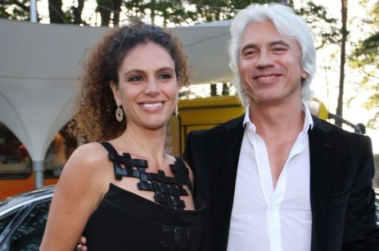 Дмитрий Хворостовский с женой Флоранс. / Фото: www.yandex.net