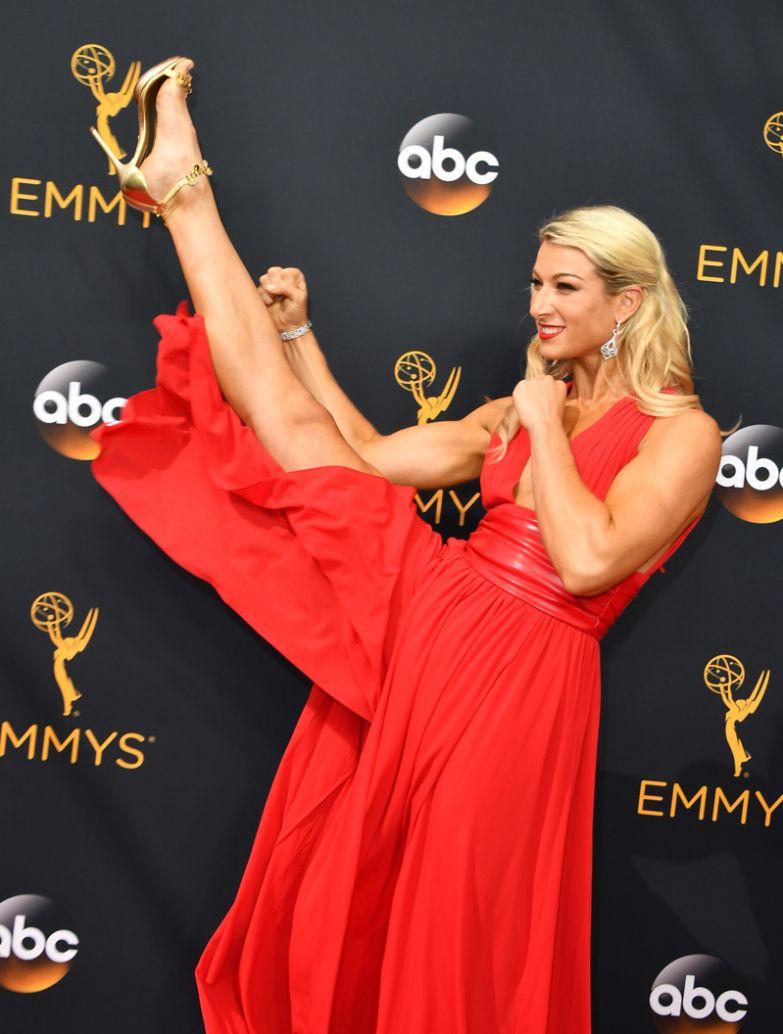 Богиня красной ковровой дорожки: Джесси Графф Джесси Графф, девушки, каскадёр, лос-анджелес, премии Эмми