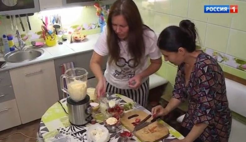 Светлана любит готовить
