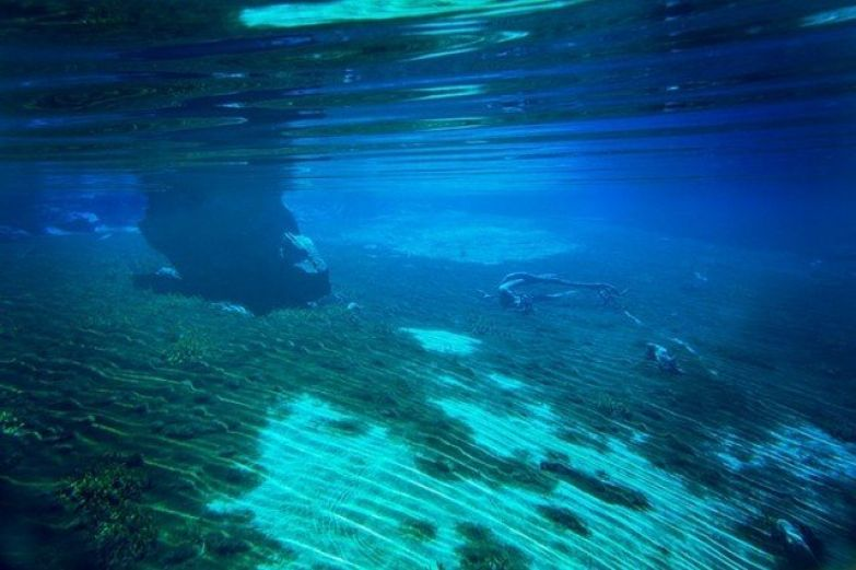 В Голубом озере нельзя купаться