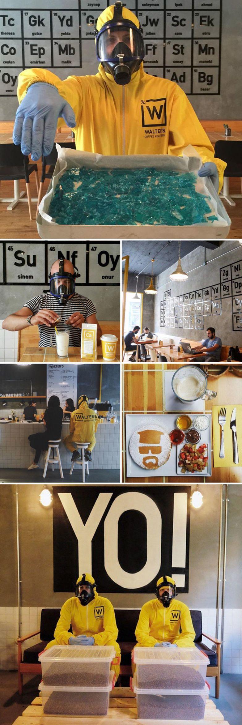 Лаборатория Уолтера, Walter's Coffee Roastery, Стамбул, Турция мир, подборка, ресторан