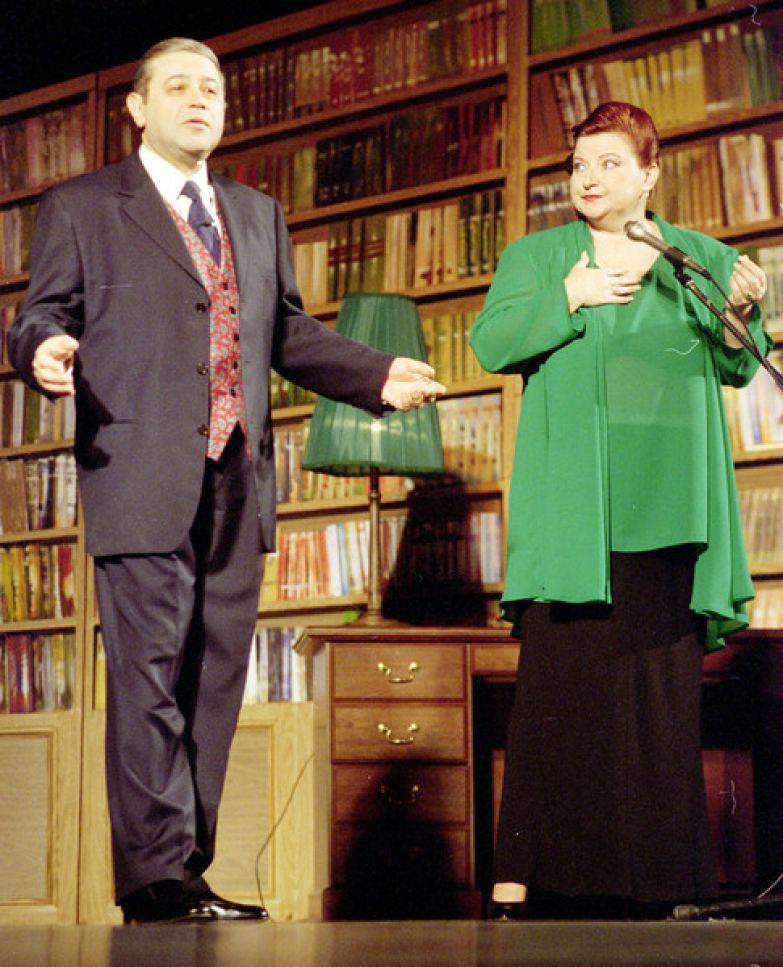 Евгений Петросян и Елена Степаненко