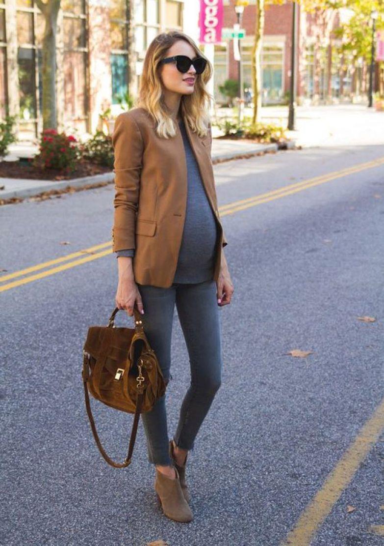 Как одеваться стильно беременной в мире