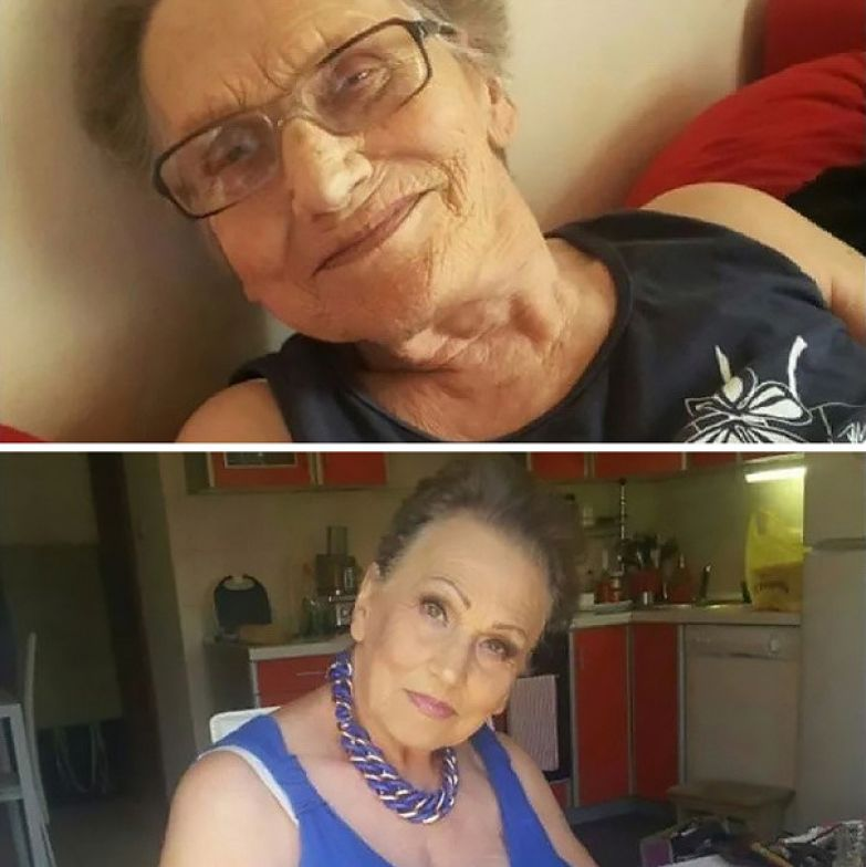 Видео неистовые бабушки фото 234-364