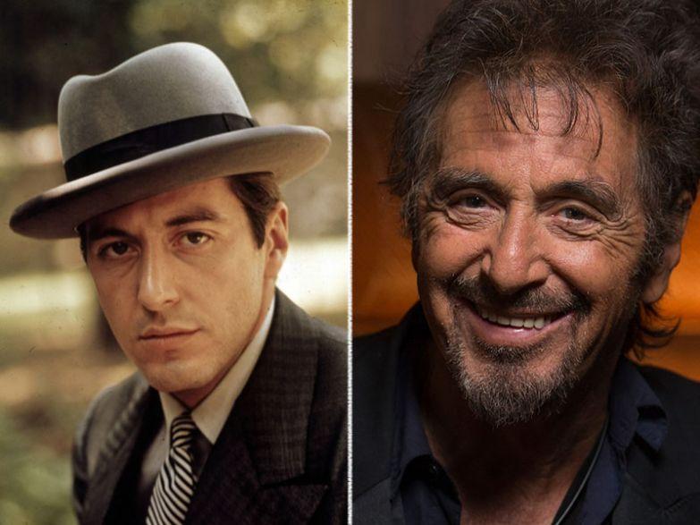 Аль Пачино, 76 лет актеры, возраст, звезды, секс-символы, тогда и сейчас