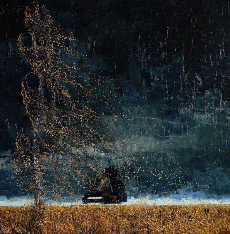 Берёзовый ветер. Автор: Justyna Kopania.