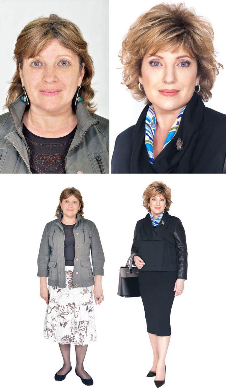 4. Татьяна, Алма-Ата женщина, перевоплощение, стилист