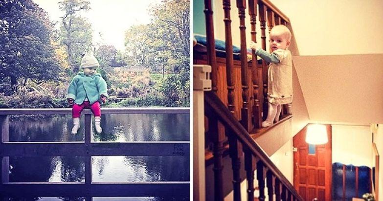 25 взрослых, которые остались один на один с ребенком