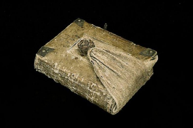 Поясная книга, датированная 1589 годом.