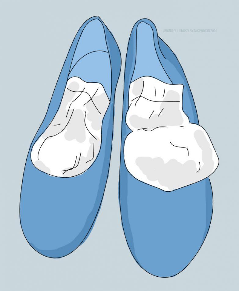 как растянуть обувь на размер