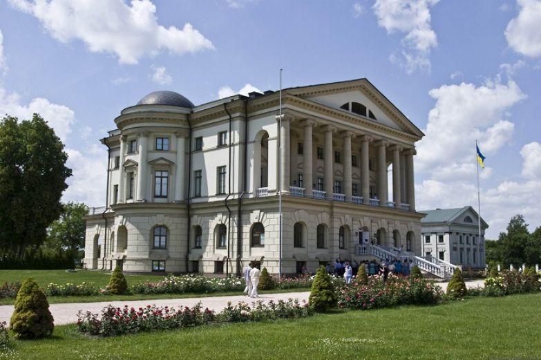 Резиденция последнего гетьмана Войска Запорожского - Кирилла Разумовского.