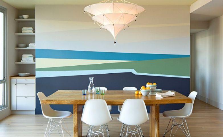 как покрасить стены краской фото