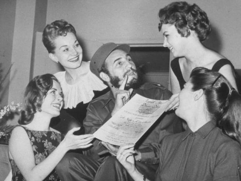 Команданте всегда пользовался огромной популярностью у женщин | Фото: dailymail.co.uk