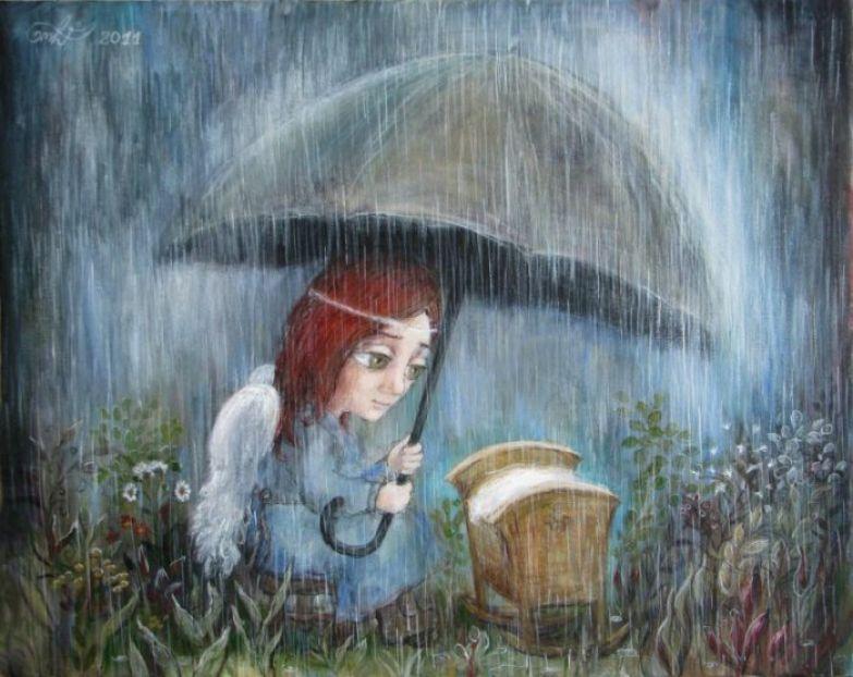 Картины, в которых рождается нежность и забота. Автор работ: Нино Чакветадзе (Nino Chakvetadze).