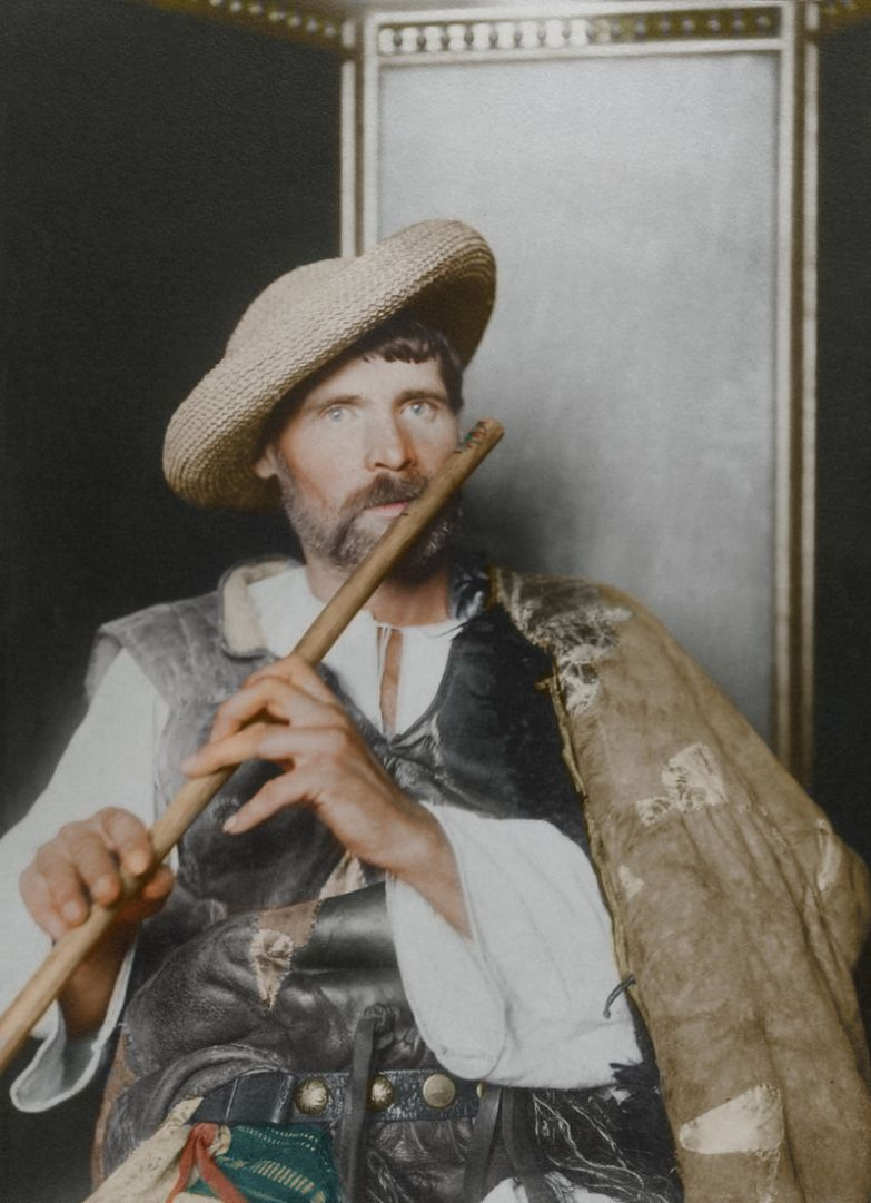Румынский дудочник, 1910 история, костюмы, сша, эмиграция
