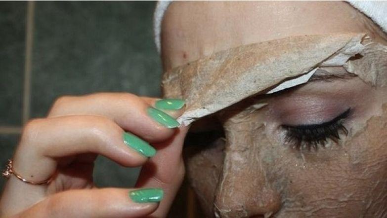 домашняя маска-пленка