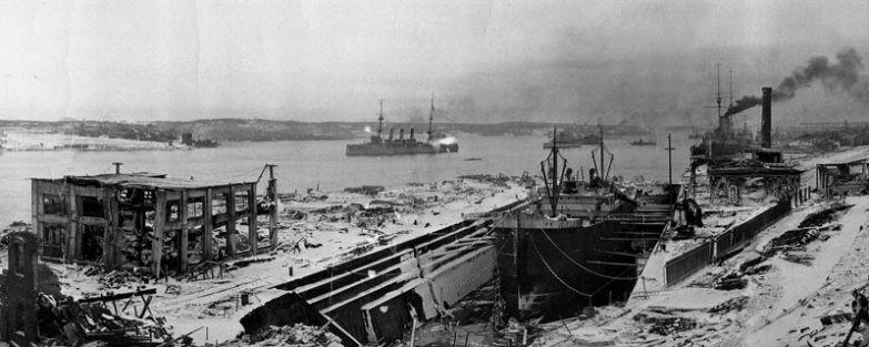 «Монблан», 6 декабря 1917 года. история, катастрофы, кораблекрушения, корабли, море