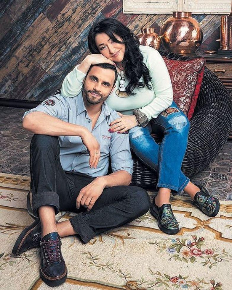 Лолита с мужем