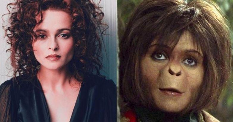 "Хелена Бонэм-Картер - Ари (""Планета обезьян"") актеры, голливуд, грим, невероятно, роли"