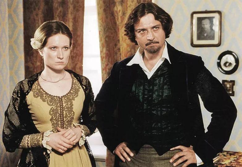 Мария и Александр на съемках