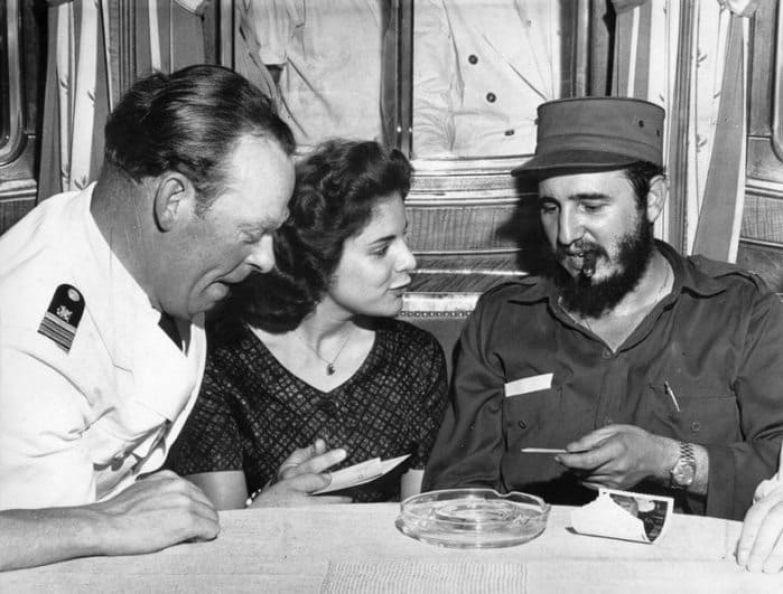 Марита Лоренц и Фидель Кастро, 1959 | Фото: was.media