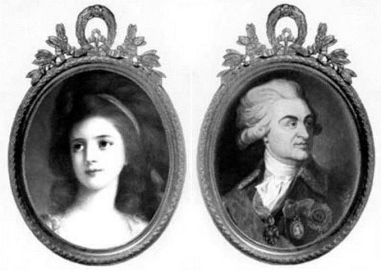 София Витт и князь Г. Потемкин