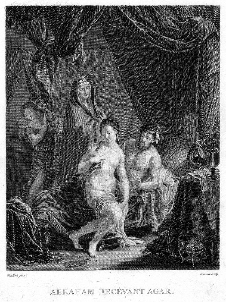 Встреча Авраама и Агарь. | Фото: ru.wikipedia.org.