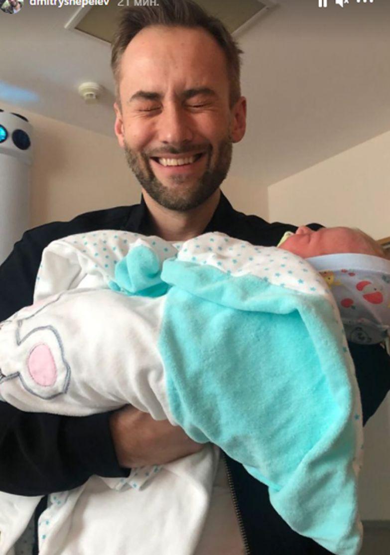Дмитрий Шепелев с сыном Тихоном