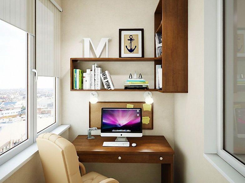 Как сделать кабинет на маленьком балконе: 25 лучших идей на .